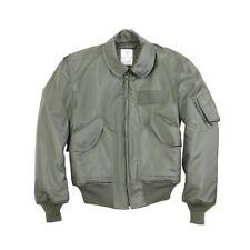 US Genuine USAF Issue Nomex Aramid CWU-45P Flight Jacket OD Cold Weather, Used