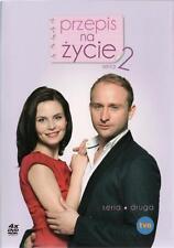 Przepis na zycie - seria 2 (DVD 4 disc) Magdalena Kumorek POLSKI POLISH