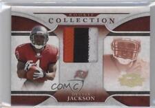 2008 Donruss Threads Rookie Collection Prime Material #RCM-9 Dexter Jackson Card