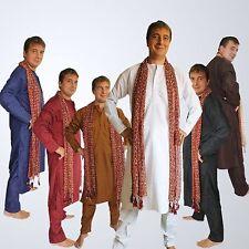 Completo Uomo Sherwani Kurta TG. L 50 India Meditazione Yoga Bollywood Eid
