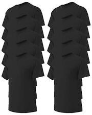 Gildan Men's Left Chest Pocket Short Sleeve 100% Cotton T-Shirt, 10-Pack. G2300