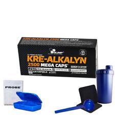 (16,37 Eur/100g) Olimp Kre-Alkalyn 2500 Mega Caps 120 Kapseln Kreatin + Bonus