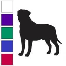 Bullmastiff Dog Decal Sticker Choose Color + Large Size #lg1931