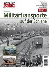 Chemin de fer Journal militaire de transport sur rail-volume 3 1-2013