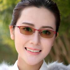 Half Rimless Photochromic Women Single Vision Reading Glasses +1.00 to +4.00