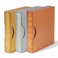 Album Optima Leuchtturm édition métallique avec étui de protection.