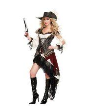 Sexy Starline Deluxe Hidden Treasure Pirate Dress Costume T2620