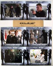 G.I.JOE The Rise of Cobra - Kurkova  Set of 6 FRENCH LC