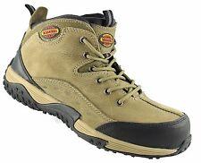 Sicherheitsschuh S1 Stiefel 94711 khaki mit Memory Fußbett Gr. 45