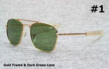 Army Ao Military Sunglasses Pilot American Optical Fashion Brand Glasses For Men