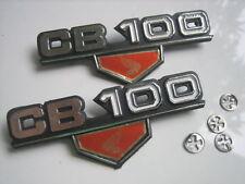 Pair New Honda CB100 CB 100 CB100K3 CB100K4 Emblem Decal Side Frame Cover L + R