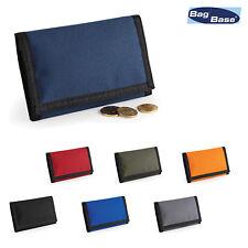 New Authentic Vintage Lacoste Garçons Petit portefeuille en polyester CSL 2.4 Essence Bleu