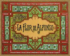 Quality POSTER.Cigar label Flor.Home wall Decoration bar club art print.q711