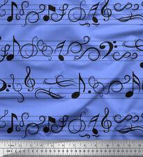 Soimoi Tissu Remarques instrument de musique tissu imprimé au mètre - MI-501B
