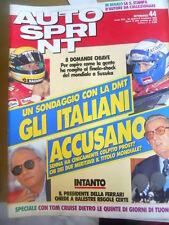Autosprint 44 1990 con stampa Alfa Romeo bimotore