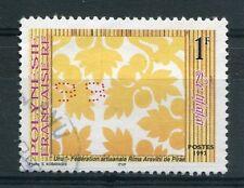 POLYNESIE - 1997, timbre 528, le tifaifai, oblitéré