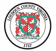 Seal of Loudoun County Virginia Sticker / Decal R743