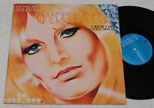 GABRIELLA FERRI:LP-L'AMORE..1°ST ORIGINALE 1972 EX