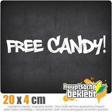 Free Candy csf0149 20 x 4 cm JDM sticker autocollant