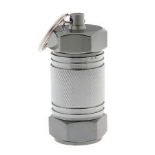 Mini Waterproof Pill Box Case Medicine Capsule Holder Container Keychain