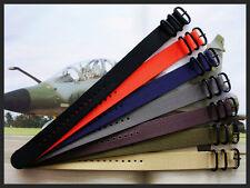 1pc NATO G10 UTC PVD Nylon Military combat diver Pilot strap watchband IW SUISSE