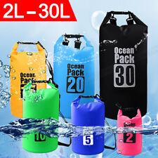 2L/5L/10L/15L/20L/30L Waterproof Dry Bag Storage Pack Outdoor Sport Beach Diving