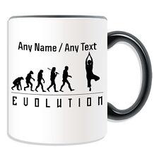 Personalised Gift Yoga Mug Money Box Cup Evolution Design Art Music Classical PE