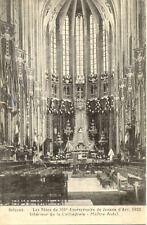 ORLEANS fêtes du 500° anniversaire de jeanne d'arc 1929 intérieur cathédrale