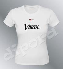 Tee shirt personnalise Vmax S M L XL XXL femme moto V max