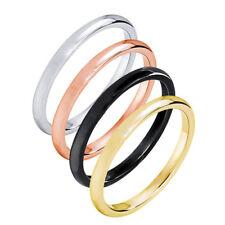 eleganter Ring aus Edelstahl schlicht & edel 4 Farben stylisch cool Beisteckring