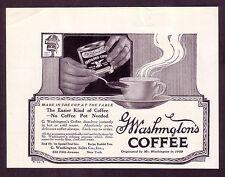1920s old original VINTAGE Washingtons Coffee can art deco retro kitchen AD