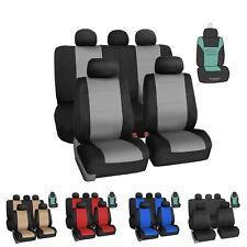 Car Seat Covers Neoprene Heavy Duty Full set Universal Fit w/ Air Freshener