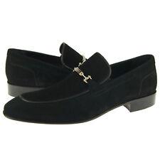 """Alex D """"Orlando"""" Bit Loafer, Men's Dress/Casual Slip-on Shoes, Black"""