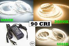 LEDUPDATES Showcase LED STRIP LIGHT 24V 90 CRI 2216 6000K 4000K 3000K + UL Power
