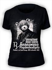 Anonymous psychoanalysts Ladies T-Shirt Drugs Trip Acid Womens A02