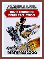 Death Race 2000     Cult Movie Posters Classic Vintage Cinema