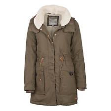 Bench Relator COAT LADIES PARKA JACKET OLIVE - Warm Winter Jacket with Fur