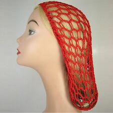 Women Ladies Soft Rayon Snood Hair Net Crocheted Hair Net