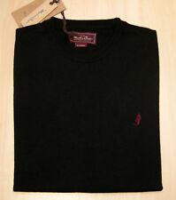 Maglia Marlboro Classics Sweater Crew Neck Black New!