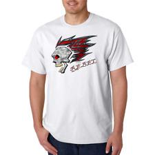 USA Made Bayside T-shirt Attitude Rebel Skull Bones