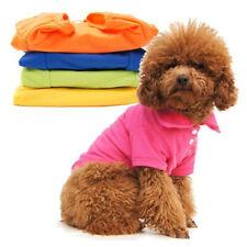 Hunde Polo-Shirt Hund Polo Shirt Hundeshirt Mantel Pullover Kleidung Jacke Dress