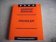 2000 Plymouth Prowler Service Repair Workshop Shop Manual FACTORY OEM Mopar