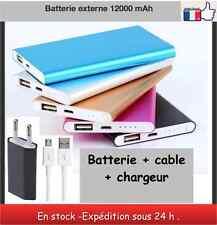 Batterie externe 12000 mAh ultra puissante power bank