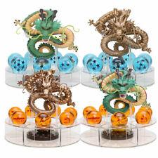 JP Anime Cartoon Crystal Dragon Ball Z Stars & dragon Shenlong & Display Shelf