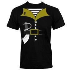Pirate Costume Men's Black T-shirt