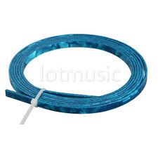 Blue Celluloid Guitar Binding Purfling Strip For Luthier Maker 1650 x 4 x 1.5mm