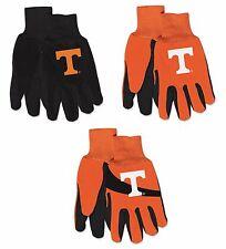 Ncaa Tennessee Volunteers No Slip Gripper Utility Work Gardening Gloves