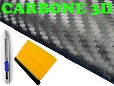 CARBONE NOIR MAT 152x200cm 3D Anti Bulle Autocollant Sticker toit auto tuning