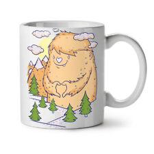 Giant Monster Love Furry Comic NEW White Tea Coffee Mug 11 oz | Wellcoda