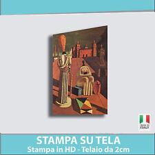 Quadro moderno astratto DE CHIRICO MUSE Quadri moderni Astratti Stampa su Tela
